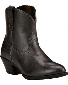 Ariat Women's Carbon Darla Booties - Round Toe