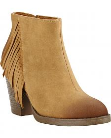 Ariat Women's Tan Unbridled Shayla Booties