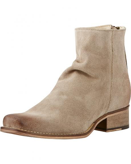 Ariat Women's Sand Unbridled Sloan Suede Boots - Square Toe