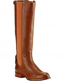 Ariat Women's Pumpkin Spice Waverly Tall Boots - Round Toe