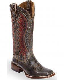 Ariat Black Vaquera Cowgirl Boots - Square Toe
