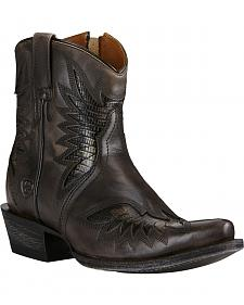Ariat Women's Charcoal Grey Santos Boots - Snip Toe
