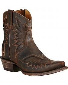 Ariat Brown Women's Andalusia Santos Boots - Snip Toe