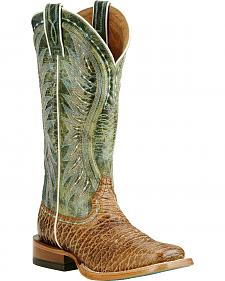 Ariat Women's Tan Vaquera Boots - Wide Square Toe