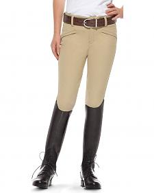 Ariat Girls' Performer Euro Seat Riding Breeches