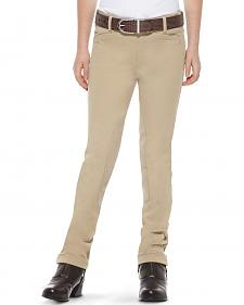 Ariat Girls' Heritage Side-Zip Jodhpur Riding Breeches