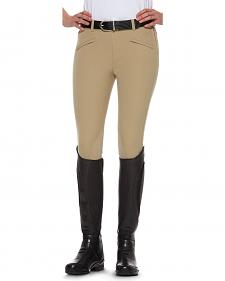 Ariat Women's Performer Mid Rise Side Zip Riding Breeches