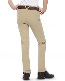 Ariat Girls' Heritage Side Zip Jodhpur Riding Breeches