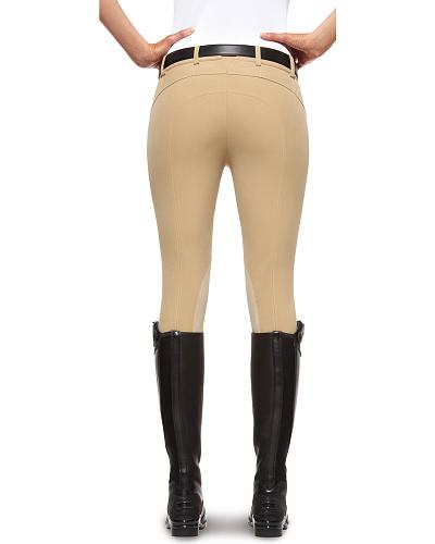 Ariat Womens Prix Zip-Front Low Rise Breeches $149.99 AT vintagedancer.com