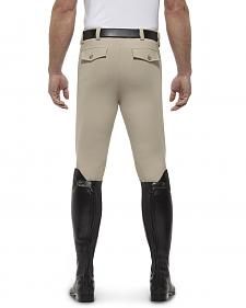 Ariat Men's Olympia Front Zip Knee Pad Riding Breeches