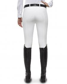 Ariat Women's Olympia Zip-Front Low Rise Knee Patch Breeches