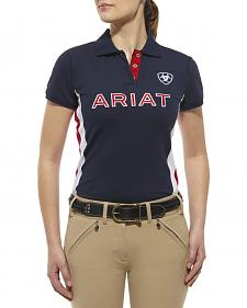 Ariat Women's Team Logo Polo