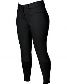 Dublin Active Shapely Full Seat Black Breeches