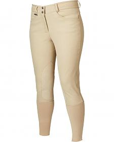 Dublin Active Signature Euro Seat Front Zip Breeches
