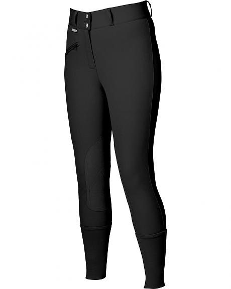 Dublin Everyday Slender Euro Seat Front Zip Breeches