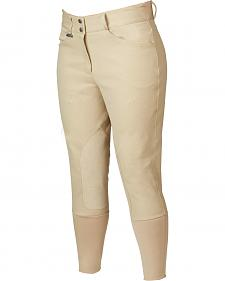 Dublin Everyday Shapely Euro Seat Front Zip Breeches