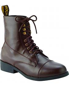 Saxon Women's Equileather Lace Boots