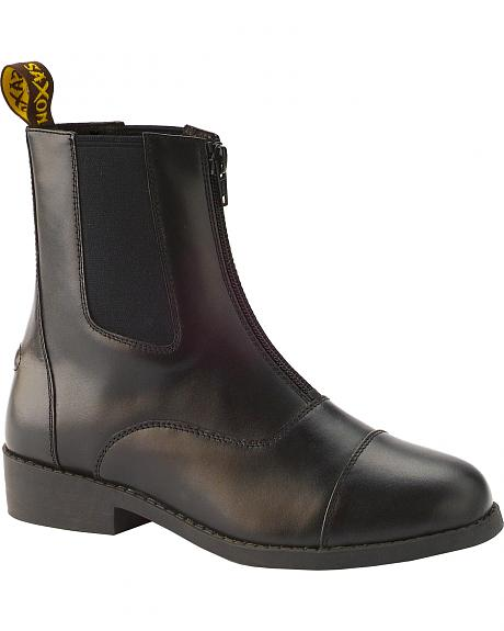 Saxon Women's Equileather Zip-Front Boots