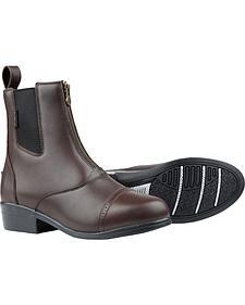 Dublin Apex Zip Paddock Brown Equestrian Boots