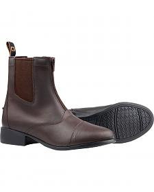 Dublin Elevation Zip Paddock Brown Equestrian Boots