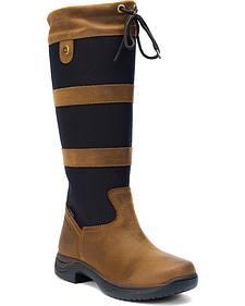 Dublin RIA Women's Black Equestrian Boots