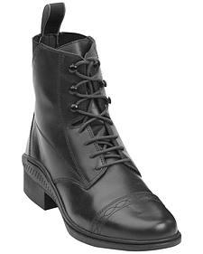 Ovation Women's Aeros Laced Paddock Boots