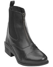 Ovation Women's Aeros Show Zip Paddock Boots