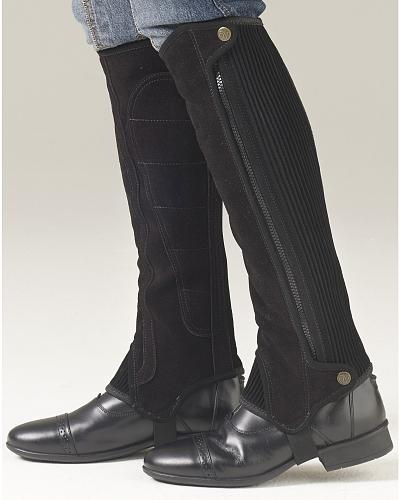 Ovation Womens Precision Fit Suede Half Chaps $64.95 AT vintagedancer.com