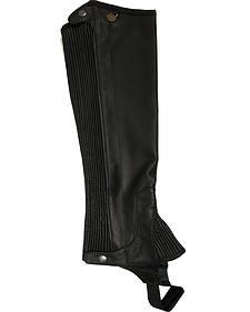 Ovation Women's Pro Top Grain Leather Half Chaps