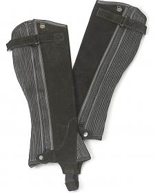 Ovation Women's Ribbed Suede Half Chaps
