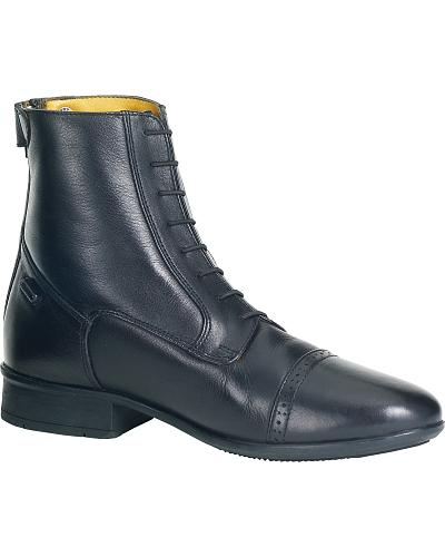 Ovation Womens Finesse Concours Back Zip Paddock Boots $135.00 AT vintagedancer.com