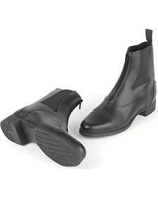 Ovation Kids' Finalist Zip Paddock Boots