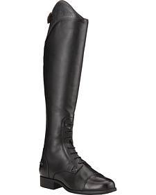 Ariat Women's Heritage Ellipse Ostrich Print Equestrian Boots