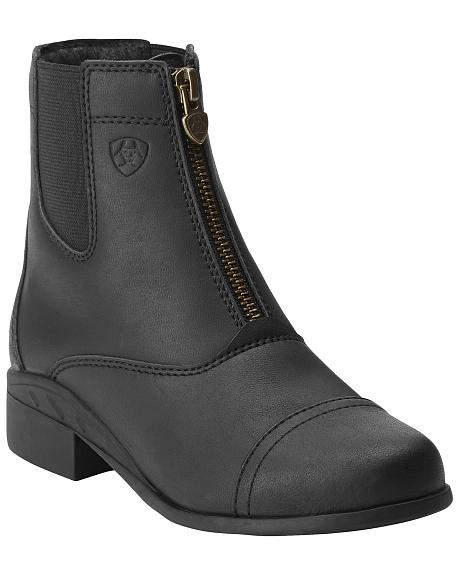 Ariat Kids' Scout Zip Paddock Riding Boots