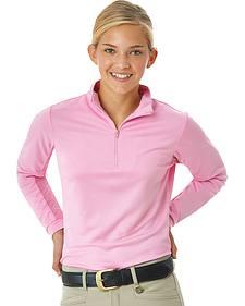 Ovation Women's CHD Cool-Rider Zip-Mock Shirt