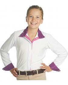 Ovation Girls' Ellie Tech Show Shirt