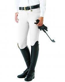 Ovation Women's Teen Celebrity DX Knee Patch Breeches