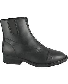 Smoky Mountain Youth Zipper Paddock Boots