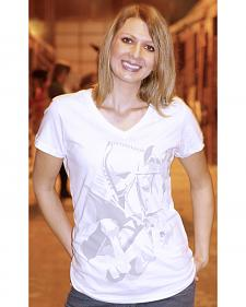 Genuine Ranch Women's Grand Prix V-Neck Tee