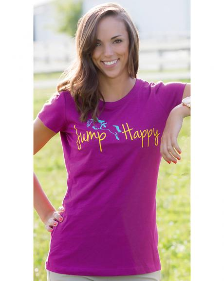 Genuine Ranch Women's Jump Happy Tee