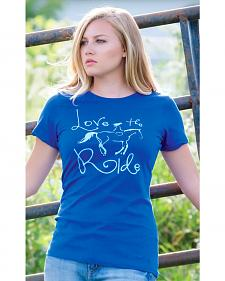 Genuine Ranch Women's Love the Ride Tee