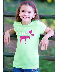 Genuine Ranch Girls' Horse Love Tee