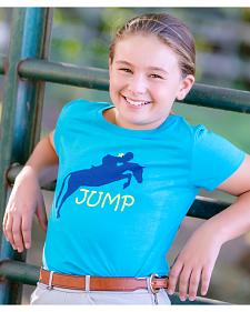 Genuine Ranch Girls' Jump Tee