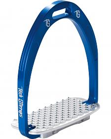 Tech Stirrups Blue Athena Jumper Irons
