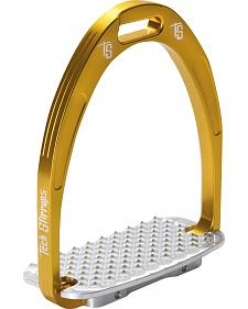 Tech Stirrups Gold Athena Jumper Irons