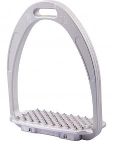 Tech Stirrups Silver Athena Jumper Irons