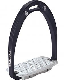 Tech Stirrups Black Iris Cross Country Irons