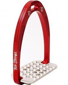 Tech Stirrups Red Iris Cross Country Irons
