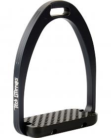 Tech Stirrups Black Tech Aphrodite Dressage Irons