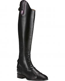 Ariat Women's Black Monaco Lx Field Zip Boots